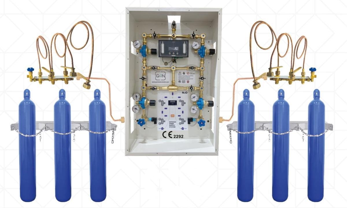 Рампы для медицинских газов