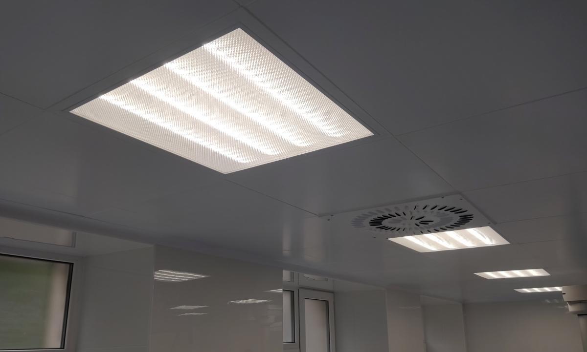 Світильник світлодіодний для медичних установ