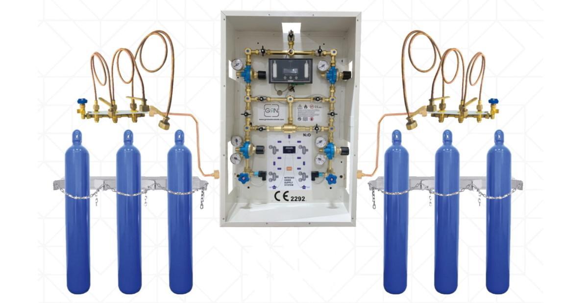 Cистема подачі медичних газів