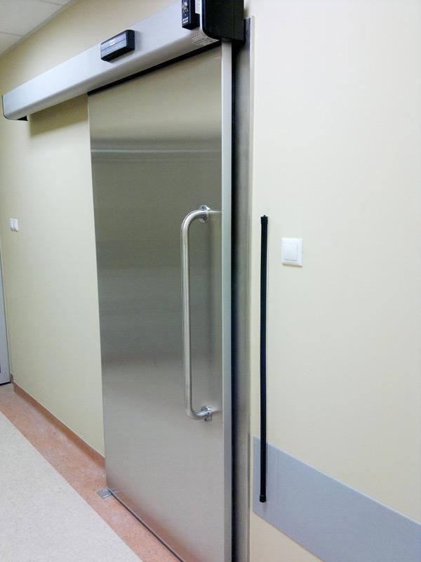 Автоматические двери для медицинских учреждений