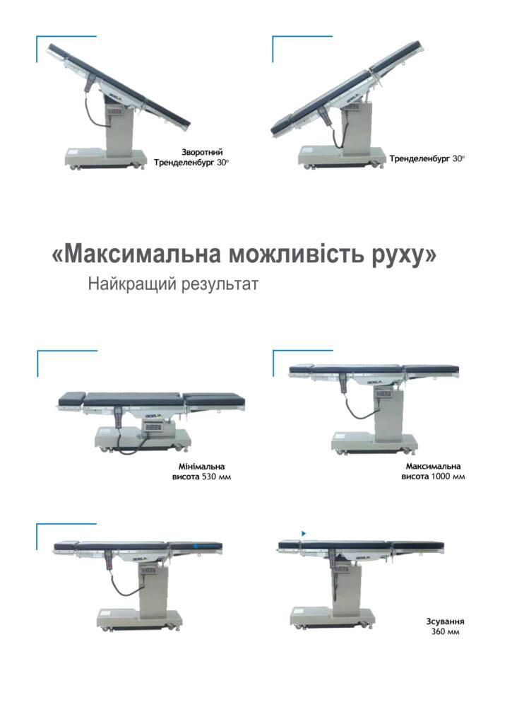 стіл операційний хірургічний
