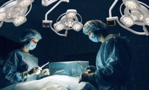 бестеневой свет хирургических светильников